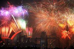 La llegada del 2015 en espectaculares imágenes - Univision Noticias