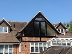Bespoke Oxford Glass Juliet Balconies - All About Balcony Loft Conversion With Dormer Windows, Loft Conversion Roof, Loft Dormer, Loft Conversions, Attic Bedroom Small, Attic Rooms, Loft Bedrooms, Bedroom Windows, House Windows