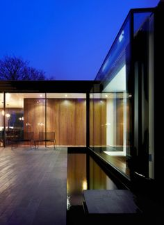 Seasons House by Luke Zuber. What a great outdoor space for the home.