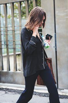 Milan_Fashion_Week_Spring_Summer_15-MFW-Street_Style-Pijama_Shirt-