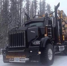 Now that's a man's truck
