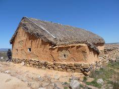 Reproducción de Casa Romana del Yacimiento de Numancia. Garray (Soria) Spain