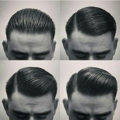 mens retro slick rockabilly hair                                                                                                                                                                                 Mehr