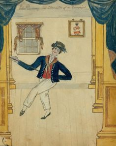 """Sailor dancing the Sailor's Hornpipe"" by John Durang"