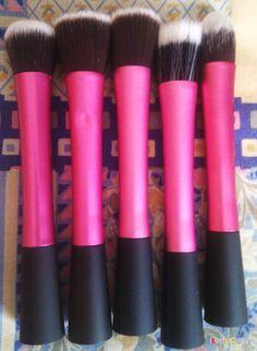 5PCS Pro Concealer Dense Powder Blush Foundation Brush Cosmetic Makeup Tool -- BuyinCoins.com