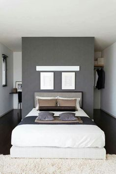 Bedroom Storage For Small Rooms - Unity Fashion Bedroom Closet Design, Small Room Bedroom, Bedding Master Bedroom, Bedroom Storage, Modern Bedroom, Bedroom Decor, Bedroom Ideas, Contemporary Bedroom, Bed Room