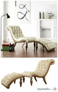 This Chaise Lounge Will Bring A New Face To The Old World Charm.