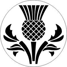 SCOTLAND - THISTLE 2 - Custom Wax N' Seals