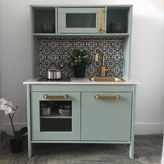 customiser la mini cuisine ikea duktig lili pinterest meubles meubles de cuisine et. Black Bedroom Furniture Sets. Home Design Ideas