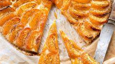 Recette de tarte fine aux abricots.
