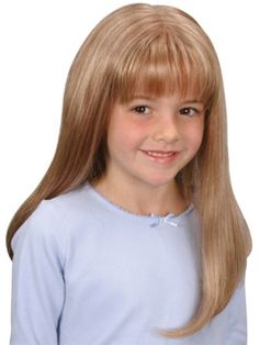 Emily Wig | Jon Renau | Children's Wigs | Monofilament Part | Child's Wig @ $136.95