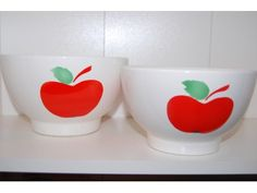 Apple bowls, KGY Granit, Made in Hungary. www.hellans.no