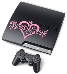 Kingdom Hearts Logo 7in Vinyl Decal for PS3 by videogamedecals, $7.99.   I wonder if it comes in different colors...