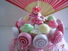Onesie Baby Shower Cake <3