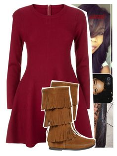 """""""girls love beyoncé~drake"""" by lamamig ❤ liked on Polyvore featuring Apricot, Minnetonka, women's clothing, women, female, woman, misses and juniors"""