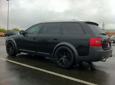 Phenomenal. If Darth Vader drove an allroad it would probably look something like this.