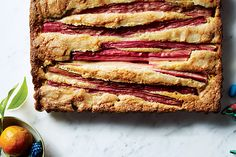 Find the recipe for Rhubarb-Almond Cake and other almond recipes at Epicurious.com
