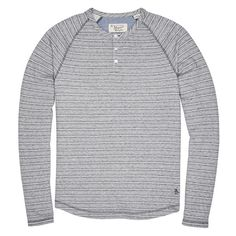 LIGHTWEIGHT TERRY HENLEY // Original Penguin