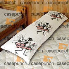An7-social Distortion Skelly Logo Body Pillow Case
