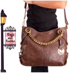 Price Firm: Michael Michael Kors Large Tristan Bag