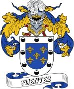 De Fuentes Spanish Coat Of Arms www.4crests.com #coatofarms #familycrest #familycrests #coatsofarms #heraldry #family #genealogy #familyreunion #names #history #medieval #codeofarms #familyshield #shield #crest #clan #badge #tattoo #crests #reunion #surname #genealogy #spain #spanish #shield #code #coat #of #arms