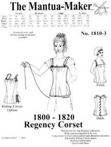 5e79e91bed6 This pattern is needed for the true Regency silhouette. Long corset for  bust enhancement and abdomen reduction. Historical notes and period sewing  ...