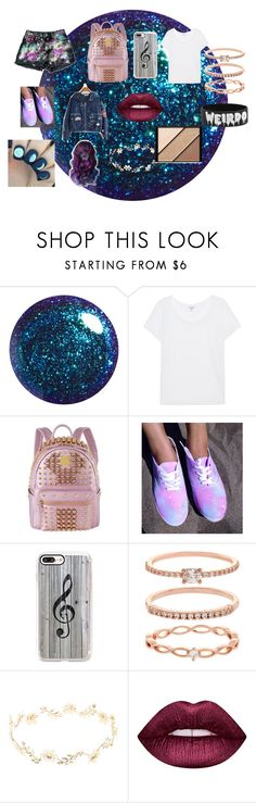 """Galaxy Set"" by kirstie04 ❤ liked on Polyvore featuring Splendid, MCM, Casetify, Accessorize, OPI, Lime Crime, Elizabeth Arden and galaxy"