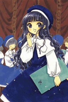 CLAMP, Cardcaptor Sakura, Daidouji Tomoyo, Blue Hat