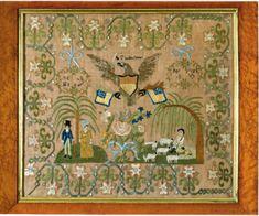 Quilt 1812: War & Piecing: Madame Grelaud's Female Seminary