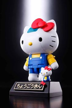4c533384e Chogokin Hello Kitty portrays this beloved character as a robot that can be  piloted by Hello Kitty herself. Special display stand included that allows  ...