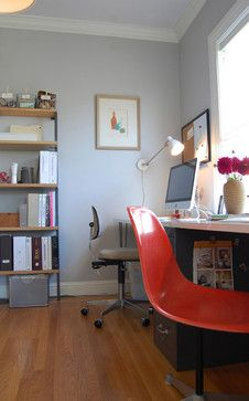 desk surface on filing cabinet