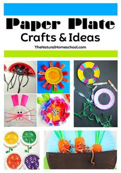 This is an great list of posts that bring you beautiful advice to make Paper Plate Crafts & Ideas a wonderful experience. Include your children in the reading. What do they think?