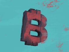 Bitcoin Sign by Samir  - Dribbble