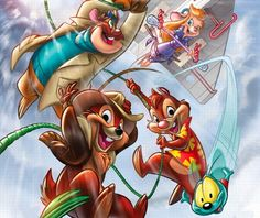 Chip and Dale Rescue Rangers. if you remember this show your childhood was awesome. Old Cartoons, Classic Cartoons, Disney Cartoons, Arte Disney, Disney Magic, Disney Art, Cartoon Shows, Cartoon Art, Cartoon Characters