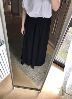 Kup mój przedmiot na #vintedpl http://www.vinted.pl/damska-odziez/spodnice/16987111-czarna-maxi-spodnica-new-look-42
