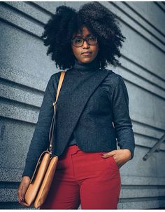 @musesuniform || hair and fashion. Natural hair. Afro curls. Curly fro.