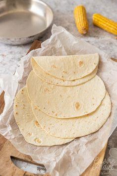 Tortillas de maïs maison - Recettes de base