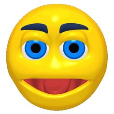 Smiley face with a surprise Smiley Emoticon, Animated Smiley Faces, Funny Emoji Faces, Facebook Emoticons, Animated Emoticons, Animated Gif, Surprise Face, Animiertes Gif, Stickers Online
