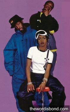 We miss them, and the energy they brought to hip-hop. Ooh La La La!