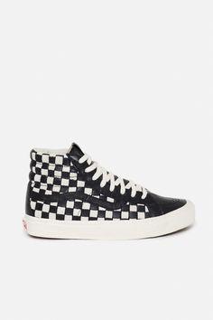 Vans Vault OG SK8-Hi LX 50th Checkerboard Sneakers - MEN - Vans Vault - OPENING CEREMONY
