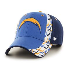 San Diego Chargers Side Cut MVP Blue Raz 47 Brand Adjustable Hat - Great  Prices And 62318ace5