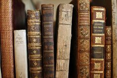 If you're a true bibliophile you love even just LOOKING at vintage books!