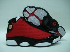 outlet store 82e45 12a91 Air Jordan 13 Retro red black white