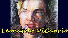 Leonardo DiCaprio. Portrait. Drawing