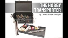 A case designed for hobbyists, by hobbyists, to safely transport their miniatures, paints and tools to venues across the world.