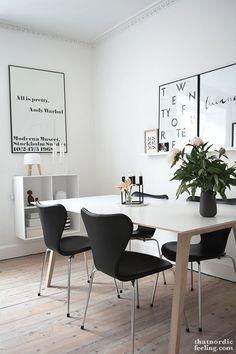 SOMETHING BEAUTIFUL: THAT NORDIC FEELING DINING ROOM