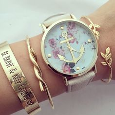 There is 0 tip to buy jewels, ancre, montre, bracelets. Help by posting a tip if you know where to get one of these clothes. Cute Watches, Stylish Watches, Wrist Watches, Cheap Watches, Pinterest Jewelry, Bijoux Design, Skeleton Watches, Beautiful Watches, Fashion Watches