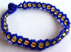 Mexican Huichol Beaded bracelet by Aramara on Etsy, $8.00