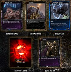 HEX Shards of Fate will be a Massively Multiplayer Online Trading Card Game