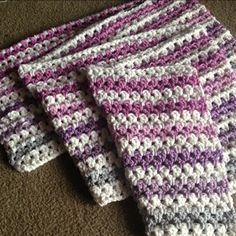 """The Zipper Stripe Blanket came about when I wanted to make a unisex design - it's kind of like a Granny Stripe, but I didn't want to use the word """"Granny"""" :) To make the blanket, I like to use the ..."""
